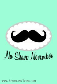 No Shave November iPhone