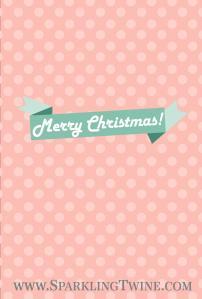 December iPhone - Pink