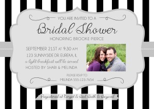 Brooke Bridal Shower Invitation